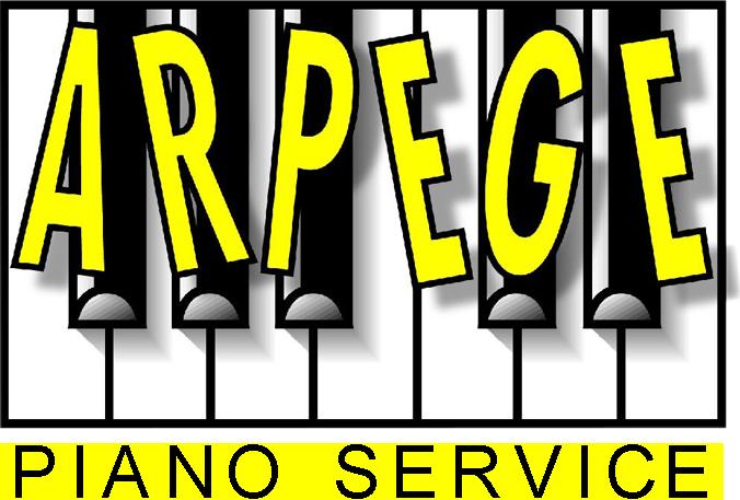 logo Arpège piano service